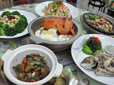 梧棲港海鮮餐廳‧珍珠港海鮮
